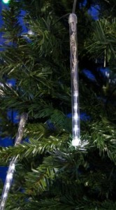 LED padající sníh